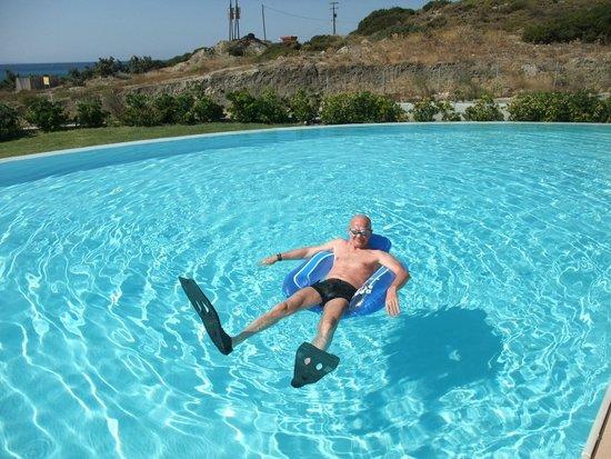 Helona Resort: Основной бассейн.