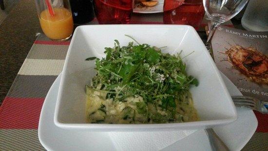 Hotel Restaurant de la Place : Risotto d'épinards