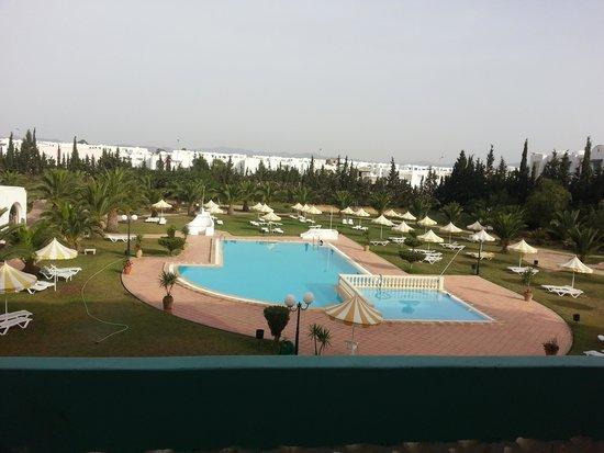Hotel Green Golf: vue piscine