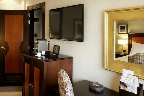 Hesperia Madrid: Guest room