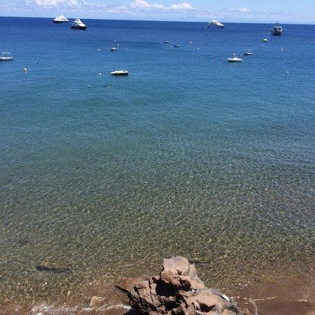 Hotel La Piazza : Il mare dall'hotel
