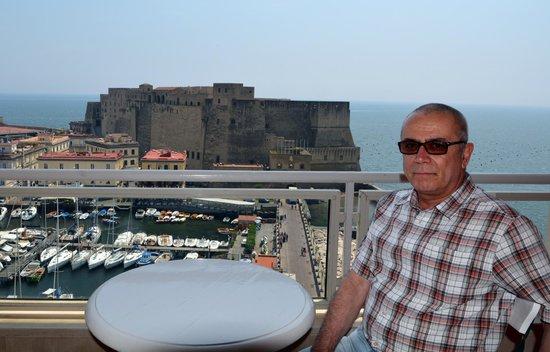 Grand Hotel Vesuvio: dal balcone della camera.