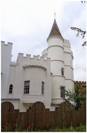 Strawberry Hill House: Gothic look