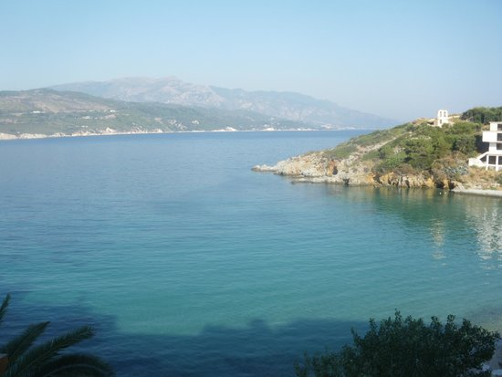 Samos Bay Gagou Beach Hotel: view from our room