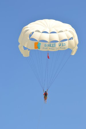 Concorde Hotel Marco Polo : volo paracadute