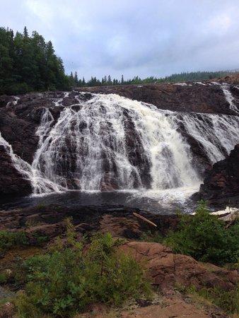 Scenic High Falls: Impressive