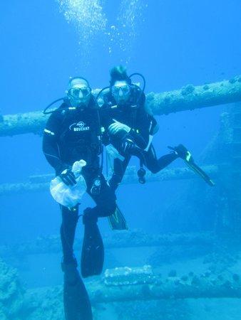 Aqaba Adventure Divers: Next to HT Cables Between Egypt & Jordan