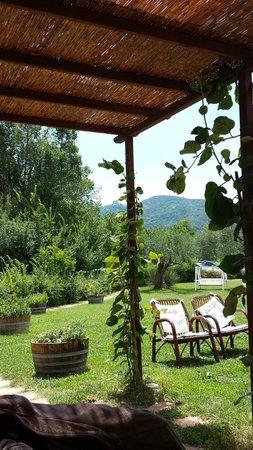 I Muretti: Il portico