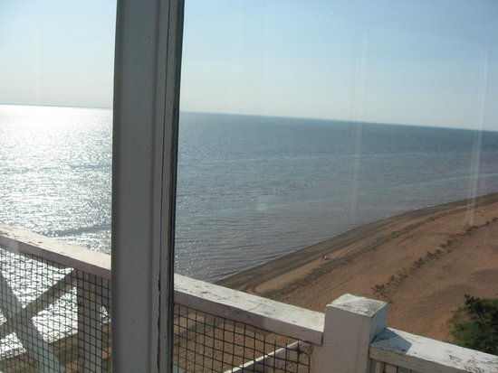 West Point Lighthouse Inn : View from lighthouse