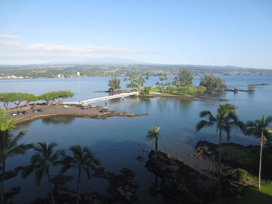 Castle Hilo Hawaiian Hotel : View from our room