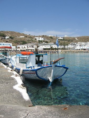 Argo Hotel Mykonos: Quay at Platys Gialos one minute from hotel