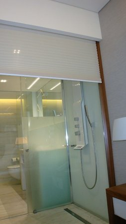 EPIC SANA Lisboa Hotel: See-through shower