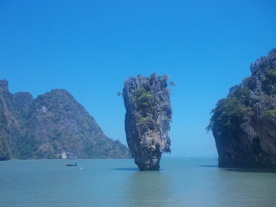 Phang Nga Bay: Le rocher de James Bond