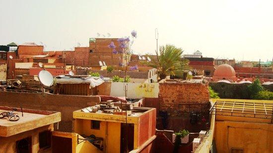 Hotel Imouzzer: Vue du Riad