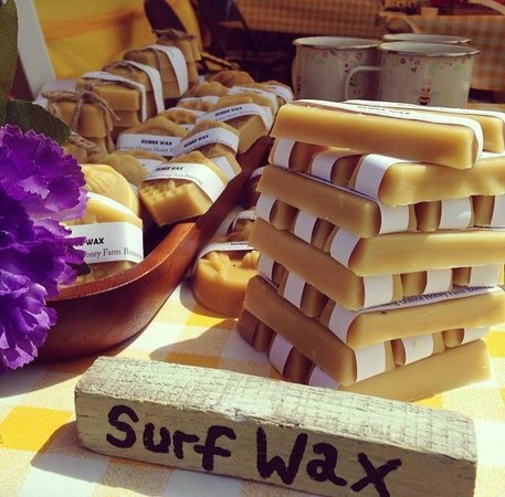 Quince Honey Farm: surf wax