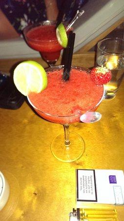 Andronikos Hotel Mykonos: Strawberry Daiquiri - thanks Lucas!