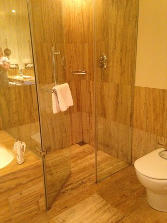 Melia Bilbao: shower