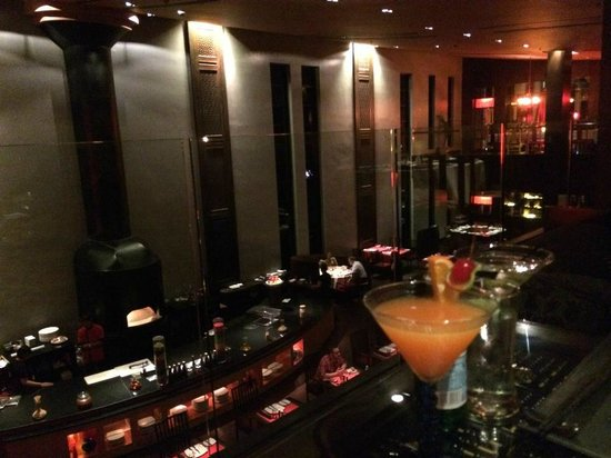 Mantra Restaurant & Bar : etage du mantra