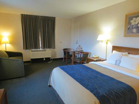 Comfort Inn The Pointe : Bedroom