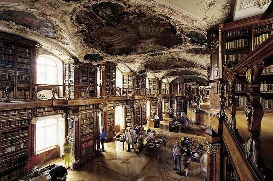 Fürstabtei St. Gallen: The Unesco-listed library