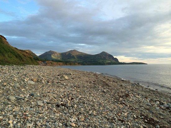 Aberafon Camp Site: View on beach