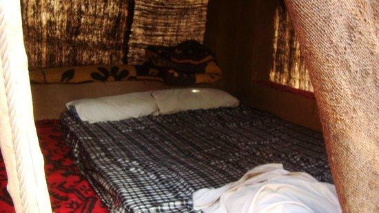 Camping Amasttou : Dans notre tente