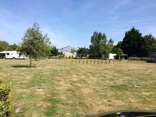 Camping Le Fief Angibaud : Peaceful campsite