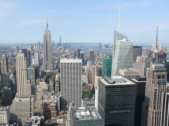 Rockefeller Center Tour : Вид на Манхэттен утром