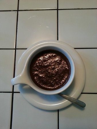 If: hot chocolate drink