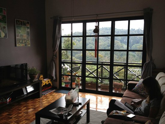 Do Chic In: View from our lounge room overlooking hills