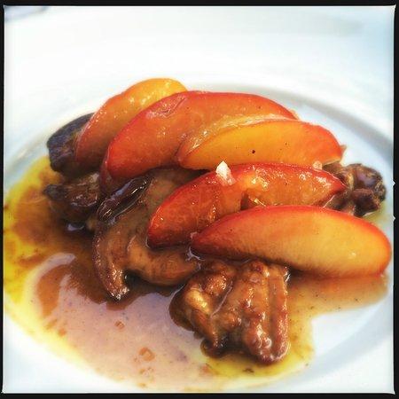 Konoba Morgan: Foie Gras with peaches, honey and Muškat wine