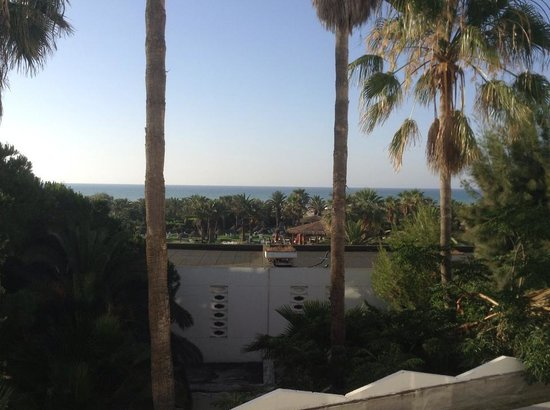 SENTIDO Phenicia: View from our room