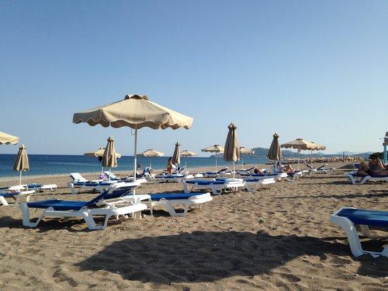 Rodos Palladium : sauberer gepflegter Strand