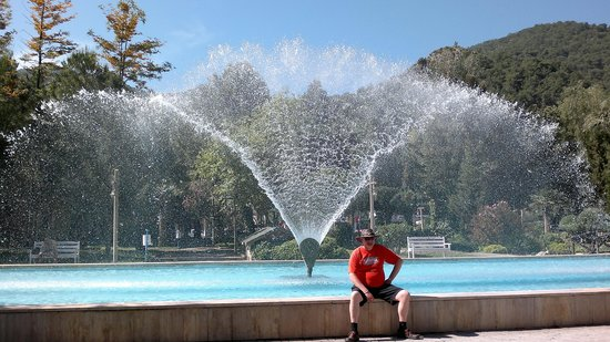 Downtown Fethiye: fountain