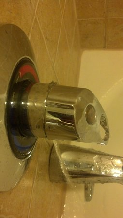 Hilton Grand Vacations at Tuscany Village: Leaking Shower Knob When Off Even