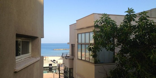 The Maxim Hotel : Sea view from a room without sea view