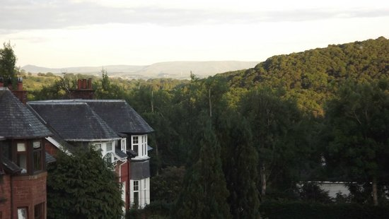 The Bield Guesthouse: The View from the Bay Window of Room Four of a Morning