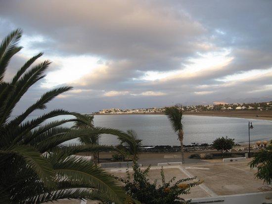 Seaside Los Jameos Playa: uitzicht vanaf balkon