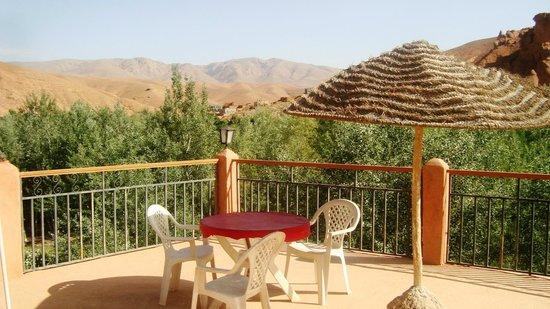 Kasbah Aït-Arbi : Vue de la Terrasse