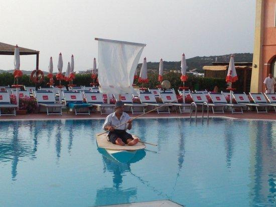 Hotel Club Cala Blu : soirée thème Sarde
