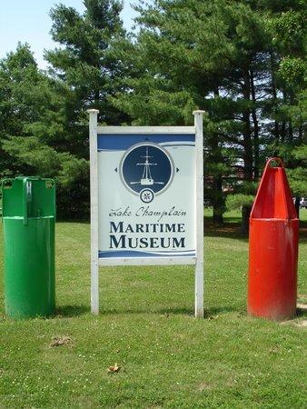 Lake Champlain Maritime Museum: You are here!