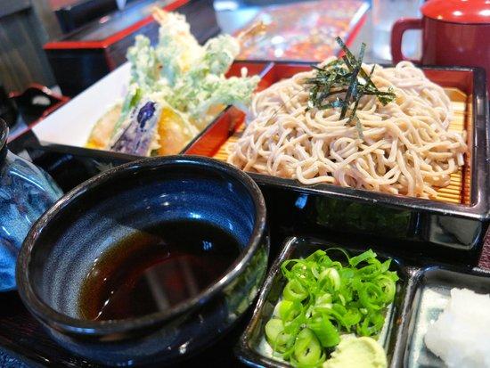 Meshidokorodaiwa: Soba and tempura
