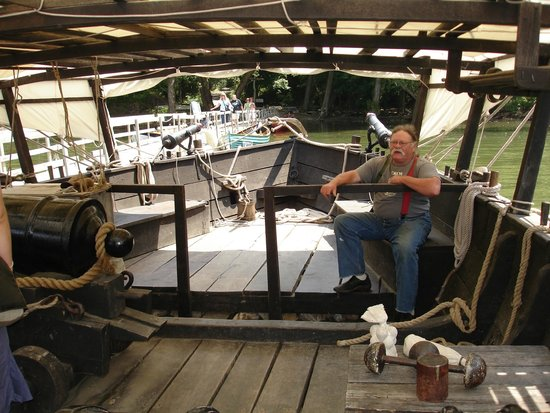 Philadelphia II - replica of Benedict Arnold's 1776 gunboat