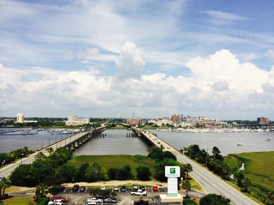 Holiday Inn Express Charleston: View from room 1110