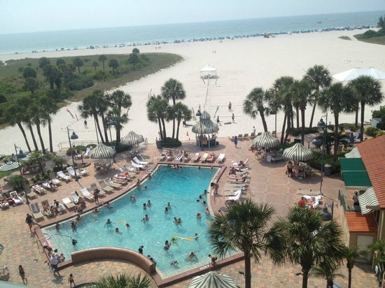 Sheraton Sand Key Resort: View from our room's balcony