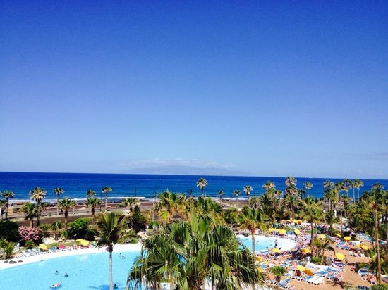 Parque Santiago Villas: Vue from the rooms sun terrace