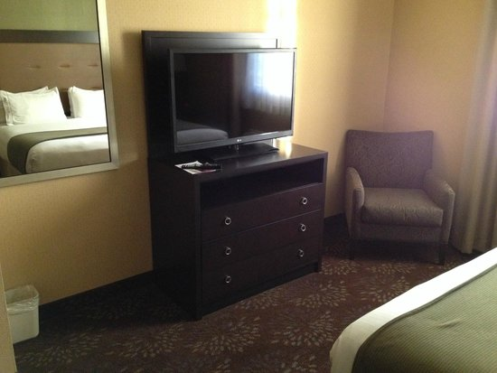 Country Inn & Suites by Carlson San Jose International Arpt : Large tv