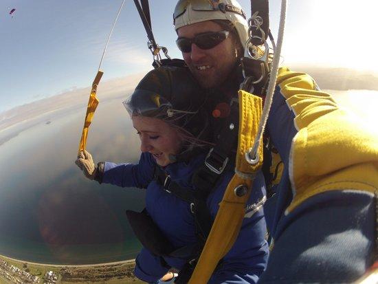 Skydive Taupo : way up high