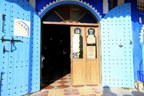Casa Annasr: Entrée du l'hôtel