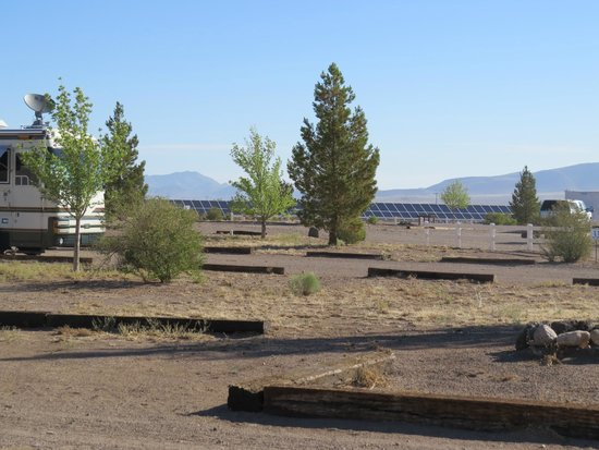 Rusty's RV Ranch: Large RV sites & Solar